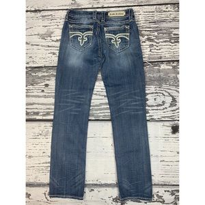Rock Revival 'Zoey' Straight Fit Jeans - Size 28